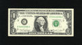 Error Notes:Skewed Reverse Printing, Fr. 1917-C $1 1988A Federal Reserve Web Note. Very Fine.. This noteexhibits what is commonly known as an Out of the Box err...