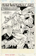 Original Comic Art:Splash Pages, Ernie Stiner and Crusher Wallace - G. I. Joe, A Real American Hero#154, Splash page 1 Original Art (Marvel, 1994)....
