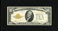 Small Size:Gold Certificates, Fr. 2400 $10 1928 Gold Certificate. Fine-Very Fine.. This $10 Gold is certainly closer to the high end of its assigned grade...
