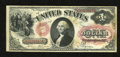Fr. 26 $1 1875 Legal Tender Fine. Some foxing is found on this Ace that has natural paper surfaces
