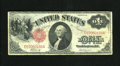 Fr. 37 $1 1917 Legal Tender Very Good-Fine. This Ace is bright for the grade