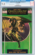 Modern Age (1980-Present):Superhero, Green Arrow: The Longbow Hunters #1 (DC, 1987) CGC NM/MT 9.8 Whitepages....