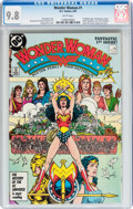 Modern Age (1980-Present):Superhero, Wonder Woman (1987 series) #1 (DC, 1987) CGC NM/MT 9.8 Whitepages....
