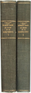 Books:Reference & Bibliography, [Dictionary] Prompsault, Jean Henri Romain, Abbe. DictionnaireRaisonné De Droit Et De Jurisprudence En ... (Total: 2Items)