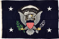 """Political:Presidential Relics, Franklin D. Roosevelt: Flag from Presidential Yacht """"Potomac"""".... (Total: 2 Items)"""