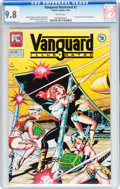 Modern Age (1980-Present):Science Fiction, Vanguard Illustrated #2 (Pacific Comics, 1984) CGC NM/MT 9.8 Whitepages....