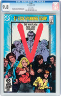 Modern Age (1980-Present):Science Fiction, V #1 (DC, 1985) CGC NM/MT 9.8 White pages....