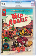 Modern Age (1980-Present):Humor, Wild Animals #1 (Pacific Comics, 1982) CGC NM/MT 9.8 Whitepages....