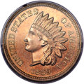 Proof Indian Cents, 1859 1C PR64 PCGS. CAC....