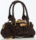 Luxury Accessories:Bags, Chloe Brown Leather Small Paddington Bag with Brass Hardware. ...