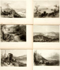 Books:Prints & Leaves, Nathaniel Parker Willis. Thirty-One Plates from AmericanScenery; or, Land, Lake, and River. From drawings by W....