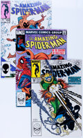 Modern Age (1980-Present):Superhero, The Amazing Spider-Man Box Lot (Marvel, 1980-96) Condition: AverageVF/NM....