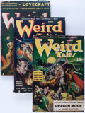 Pulps:Horror, Weird Tales Group (Popular Fiction, 1941) Condition: Average VG....(Total: 6 Comic Books)