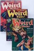 Pulps:Horror, Weird Tales Group (Popular Fiction, 1940) Condition: AverageVG/FN.... (Total: 6 Items)