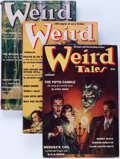Pulps:Horror, Weird Tales Group (Popular Fiction, 1939) Condition: AverageVG/FN.... (Total: 10 Comic Books)