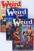 Pulps:Horror, Weird Tales Group (Popular Fiction, 1938) Condition: AverageFN+.... (Total: 6 Items)