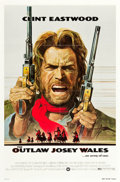 """Movie Posters:Western, The Outlaw Josey Wales (Warner Brothers, 1976). One Sheet (27"""" X41"""").. ..."""