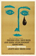 "Movie Posters:Drama, Bonjour Tristesse (Columbia, 1958). One Sheet (27"" X 41"").. ..."