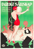 """Movie Posters:Drama, Not Quite Decent (Fox, 1929). Swedish One Sheet (27.5"""" X 39.25"""")....."""