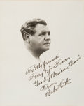 Autographs:Photos, Mid-1930's Babe Ruth Signed Photograph....