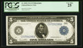 Fr. 855b $5 1914 Federal Reserve Note PCGS Very Fine 25
