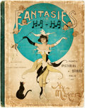 Books:Art & Architecture, [Cartoons]. Henry Mayer. Fantasies in Ha! Ha! New York: Meyer Brothers, [1900]. No edition stated. Folio. Publisher'...