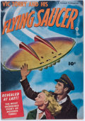 Golden Age (1938-1955):Science Fiction, Vic Torry & His Flying Saucer #nn (Fawcett Publications, 1950)Condition: VG/FN....