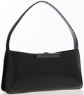 Luxury Accessories:Bags, Givenchy Black Leather Shoulder Bag. ...
