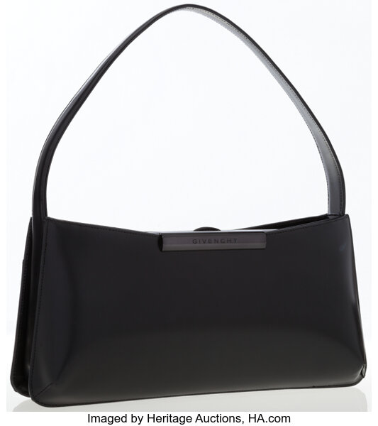 2f0fe86001 Givenchy Black Leather Shoulder Bag. ... Luxury Accessories Bags ...