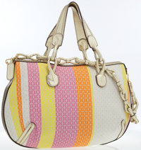 Loewe Pink, Yellow & Orange Canvas Tote Bag