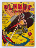 Golden Age (1938-1955):Science Fiction, Planet Comics #7 (Fiction House, 1940) Condition: GD....