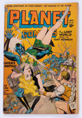 Golden Age (1938-1955):Science Fiction, Planet Comics #32 (Fiction House, 1944) Condition: GD+....