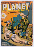 Golden Age (1938-1955):Science Fiction, Planet Comics #26 (Fiction House, 1943) Condition: GD/VG....