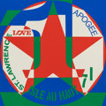 Fine Art - Work on Paper:Print, ROBERT INDIANA (American, b. 1928). Series 1, 1980.Screenprint in colors. 26-3/4 x 26-3/4 inches (67.9 x 67.9 cm). Ed....
