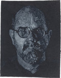 Post-War & Contemporary:Contemporary, CHUCK CLOSE (American, b. 1940). Self-Portrait(Pulp/Pochoir), 2000. Pressed handmade paper pulp in colorswith pochoir...