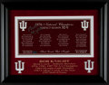 Basketball Collectibles:Others, Bobby Knight Signed Indiana Hoosiers Display....