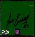 Basketball Collectibles:Others, Bill Russell Signed Boston Garden Parquet Floor Piece....