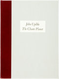 Books:Literature 1900-up, John Updike. SIGNED/LIMITED. The Chaste Planet. Worcester:Metacom Press, 1980. First edition. Edition limited to tw...