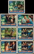"Movie Posters:Exploitation, High School Hellcats (American International, 1958). Lobby Cards(7) (11"" X 14""). Exploitation.. ... (Total: 7 Items)"
