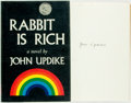 Books:Literature 1900-up, John Updike. SIGNED. Rabbit is Rich. New York: Alfred A.Knopf, 1981. First edition. Publisher's cloth binding with ...