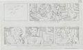 "Original Comic Art:Miscellaneous, Jack Kirby Fantastic Four ""The Menace of Magneto"" Storyboard#57 Original Animation Art (DePatie-Freleng, 1978)...."