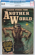 Golden Age (1938-1955):Horror, Strange Stories from Another World #4 (Fawcett Publications, 1952)CGC VG 4.0 Off-white to white pages....