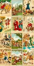 Miscellaneous:Postcards, [Postcards]. Group of Twenty Postcards, Some Humorously DepictingFrench History and Some Depicting British Armor. Various p...