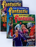Pulps:Science Fiction, Fantastic Adventures Box Lot (Ziff-Davis, 1941-45) Condition:Average VG.... (Total: 2 Items)
