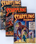 Pulps:Science Fiction, Startling Stories Box Lot (Standard, 1939-53) Condition: AverageVG.... (Total: 62 Items)