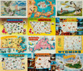 Miscellaneous:Postcards, [Postcards]. Group of Thirty State Postcards. States include Idaho,Massachusetts, Montana and Wyoming. Various publishers a...