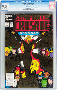 Infinity Crusade #1 (Marvel, 1993) CGC NM/MT 9.8 White pages