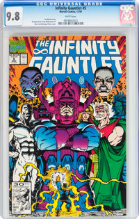 The Infinity Gauntlet #5 (Marvel, 1991) CGC NM/MT 9.8 White pages