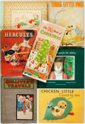 Books:Children's Books, [Children's]. Group of Seven Children's Books. Various publishersand dates. Publishers' bindings. Very good. . ... (Total: 7 Items)