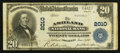 National Bank Notes:Kentucky, Ashland, KY - $20 1902 Plain Back Fr. 654 The Ashland NB Ch. #2010. ...
